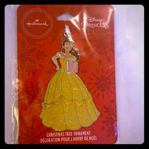 Hallmark Disney Princess Belle Christmas Ornament
